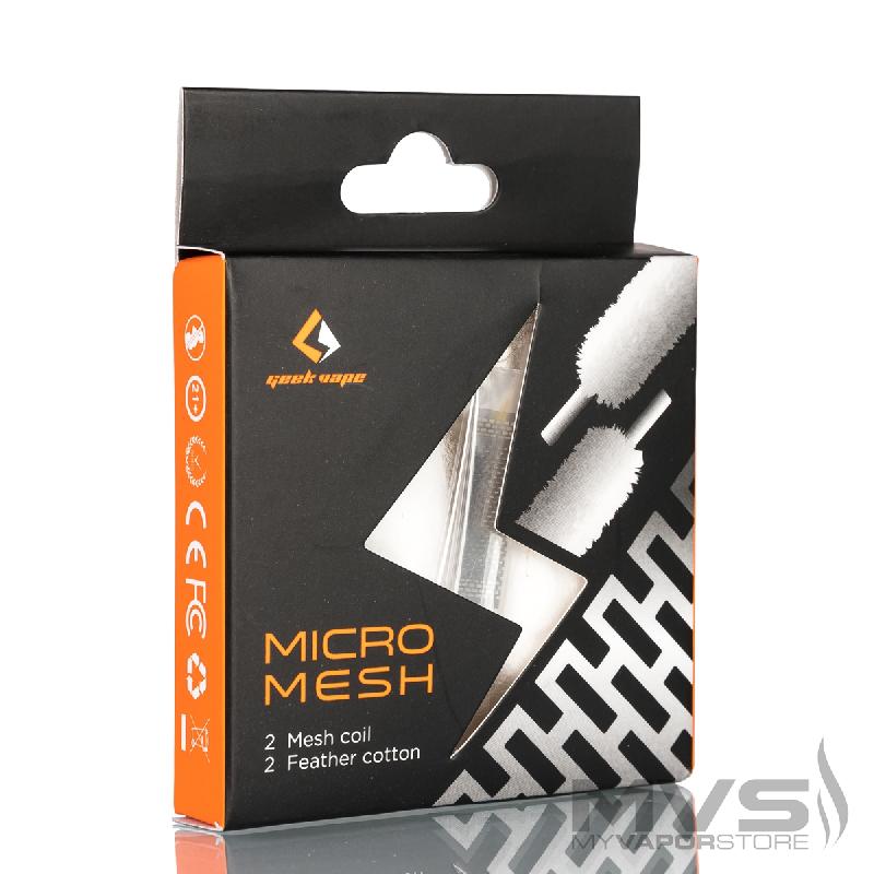Zeus X Micromesh Coil 0,2 Ohm Confezione da 2 Pezzi - Geek Vape - Rigenerazione - SvapoMagic