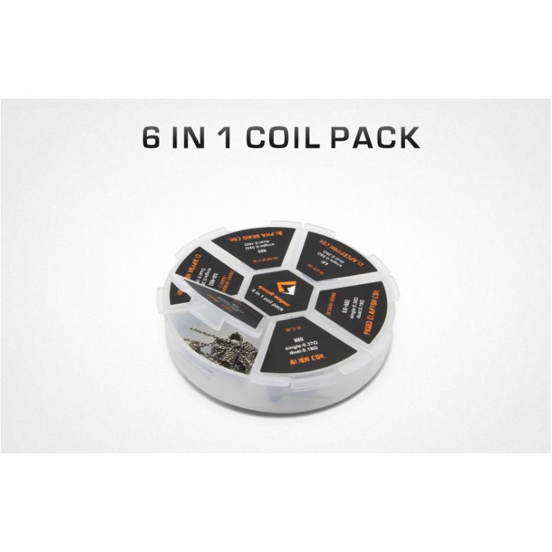 Pacchetto Coil Pronte 6 in 1 - Geek Vape - Rigenerazione - SvapoMagic